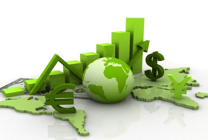 Una rappresentazione dell'economia globale